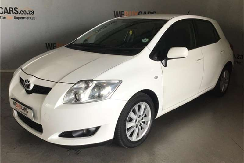 2008 Toyota Auris 1.4 RS