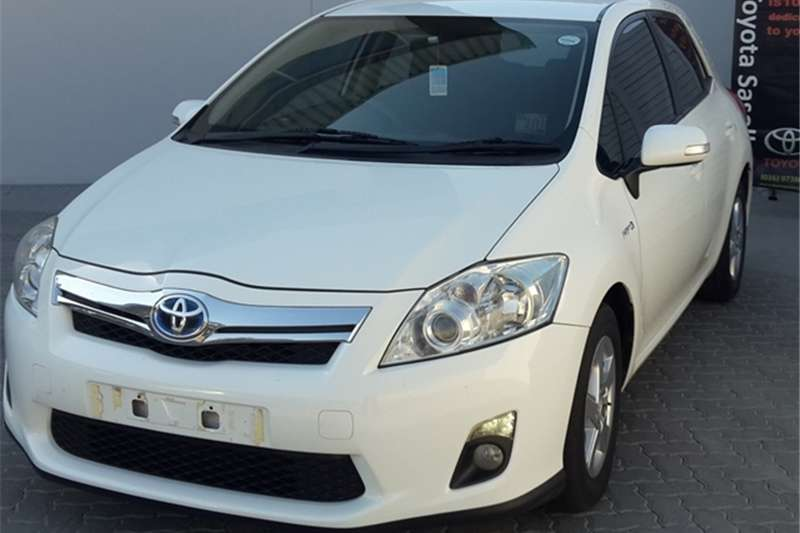 2012 Toyota Auris XS HSD