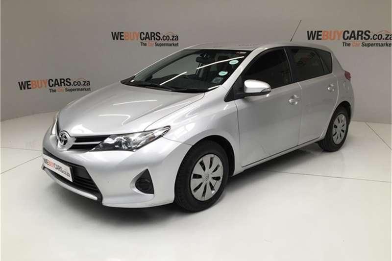 2013 Toyota Auris 1.3 X