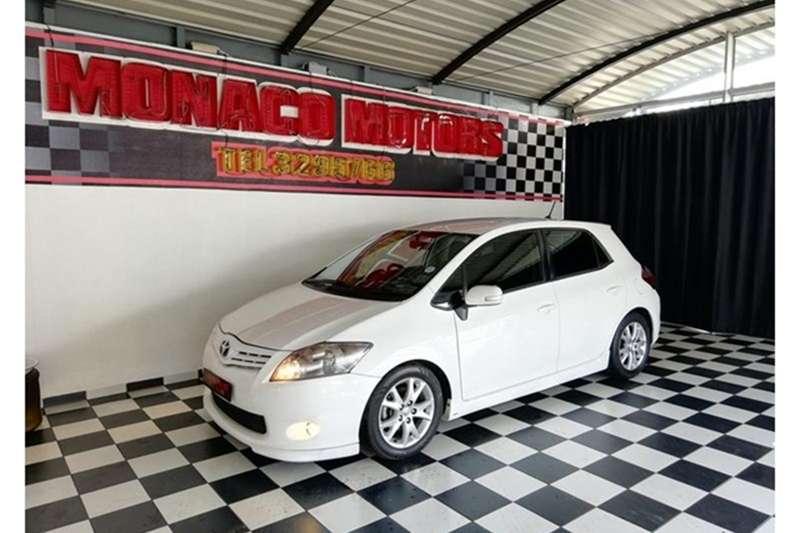 2012 Toyota Auris TRD