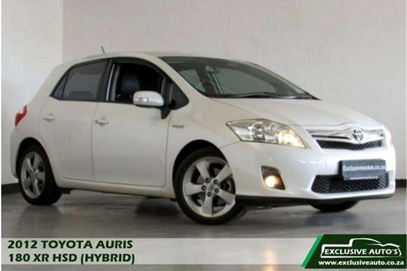 2012 Toyota Auris XR HSD
