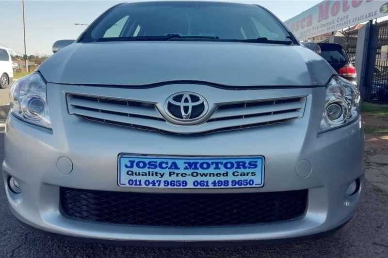 2012 Toyota Auris 1.6 XI
