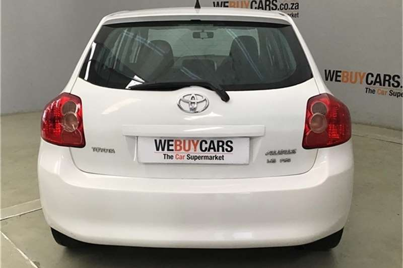 2009 Toyota Auris 1.6 RS M MT