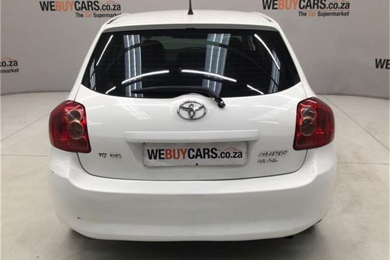 2009 Toyota Auris 1.6 RS M MT