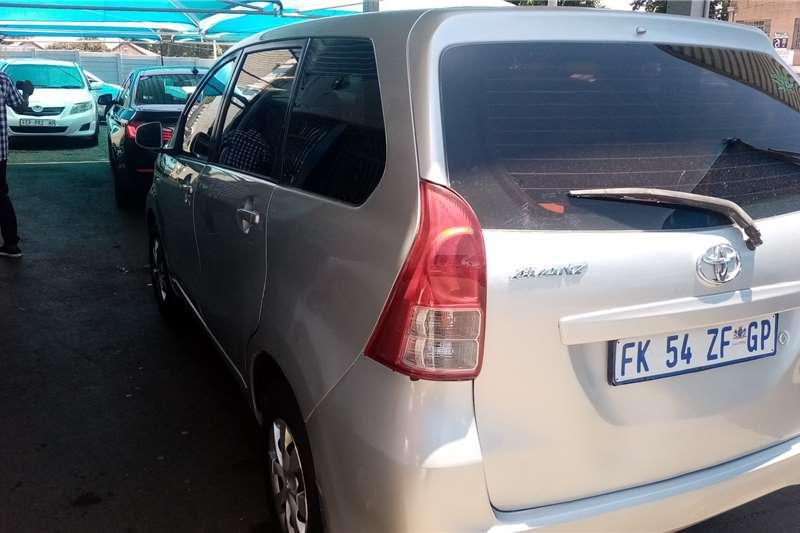 Toyota Avanza 1.3 S 2015