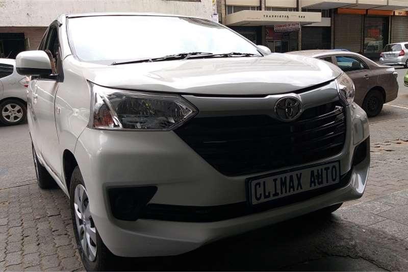 Toyota Avanza 1.3 S 2016