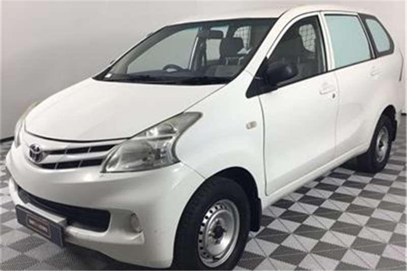 Toyota Avanza 1.3 S panel van 2014