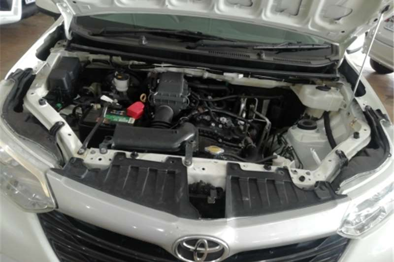 2016 Toyota Avanza Avanza 1.3 S panel van
