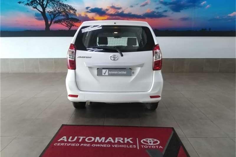 Toyota Avanza 1.3 S panel van 2017
