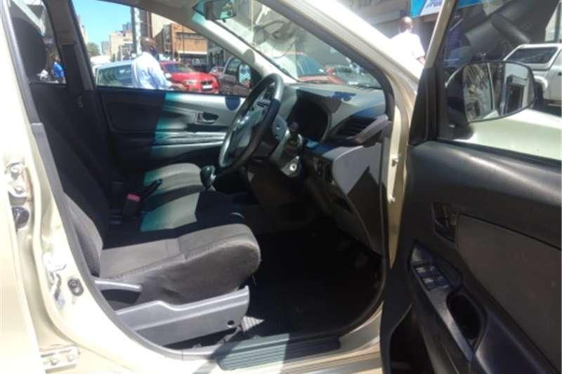 Used 2017 Toyota Avanza 1.3 S panel van