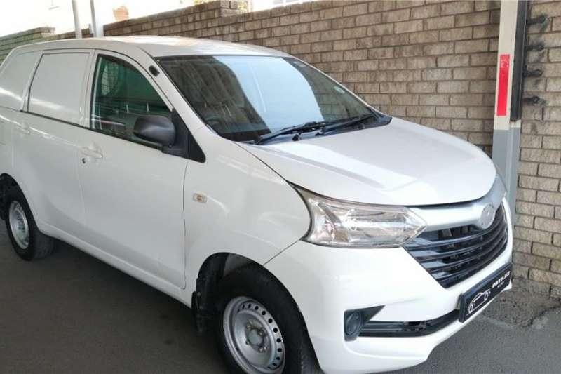 Used 2018 Toyota Avanza 1.3 S panel van