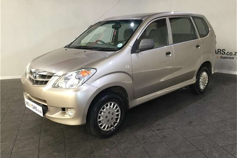 Toyota Avanza 1.3 SX 2007