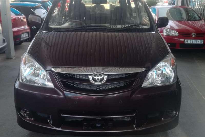 Toyota Avanza 1.3 SX 2011