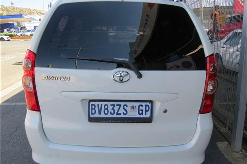 Used 2012 Toyota Avanza 1.3 SX