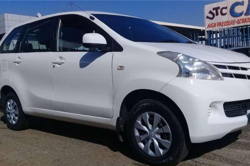 Toyota Avanza 1.3 SX 2014