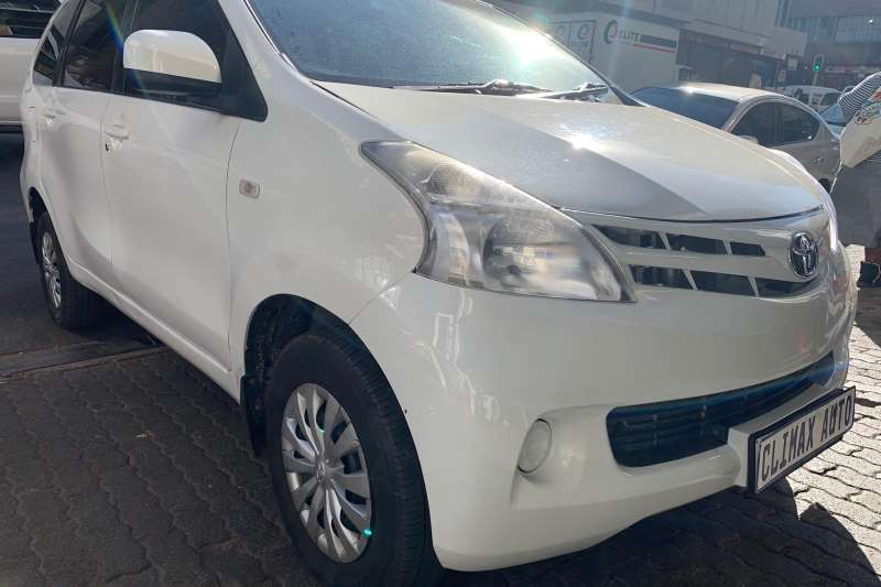 Toyota Avanza 1.3 SX 2015