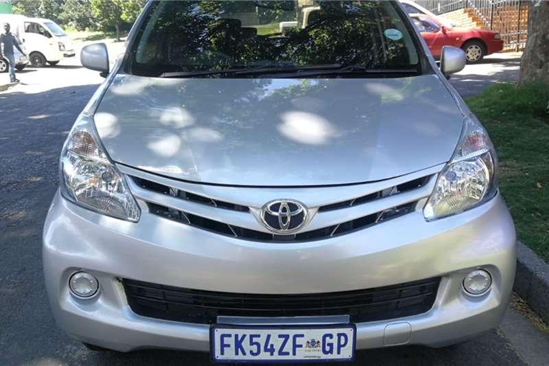 Used 2015 Toyota Avanza 1.3 SX