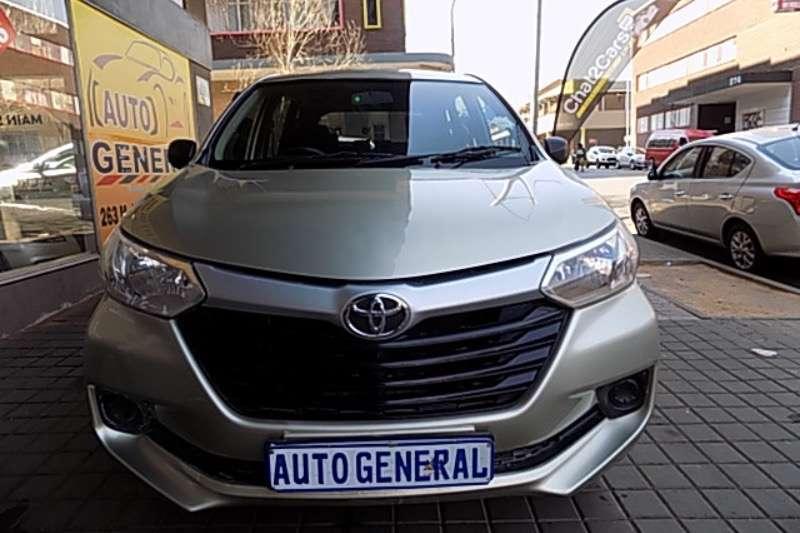 Toyota Avanza 1.3 SX 2016