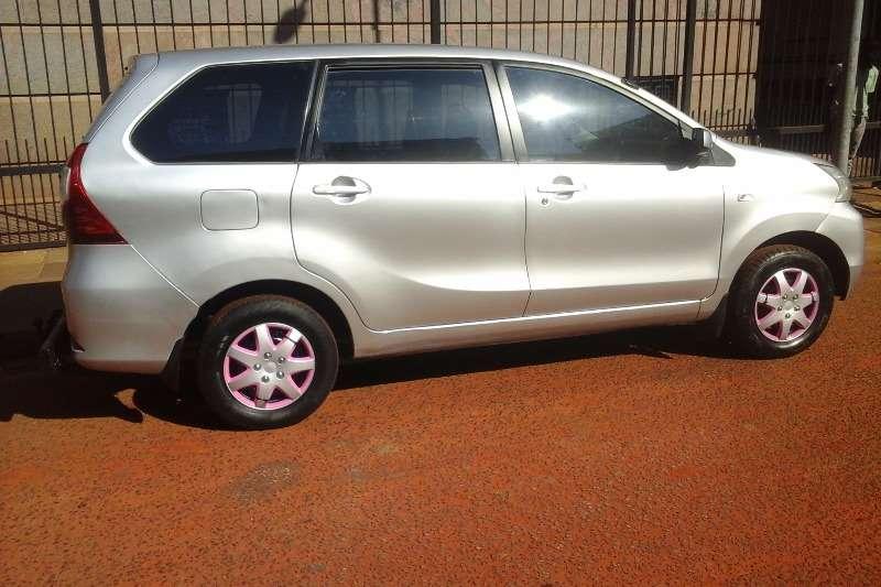 Used 2017 Toyota Avanza AVANZA 1.3 SX