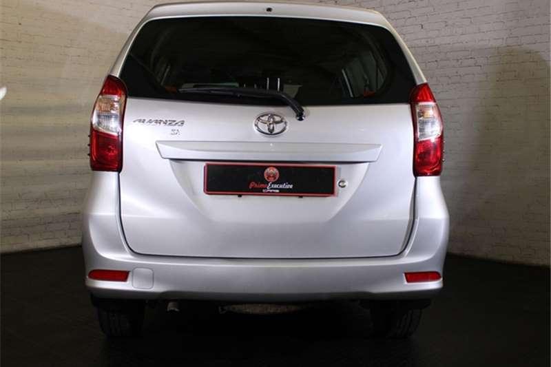 Toyota Avanza 1.3 SX 2018