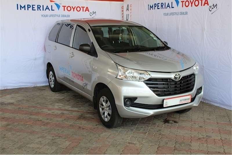 Toyota Avanza 1.3 SX 2020