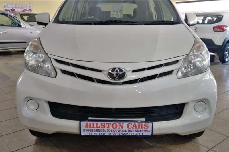 Toyota Avanza 1.3 SX MANUAL 2014