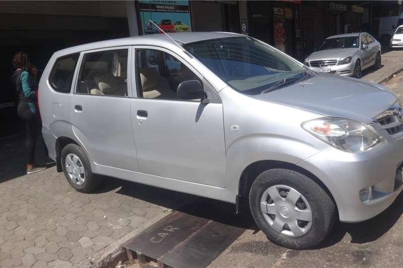 Toyota Avanza 1.5 SX 2006