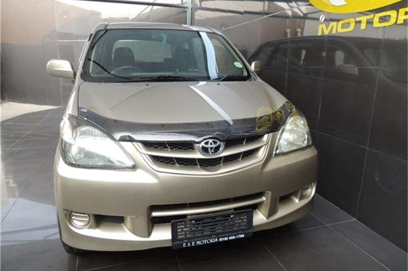 Toyota Avanza 1.5 SX 2009