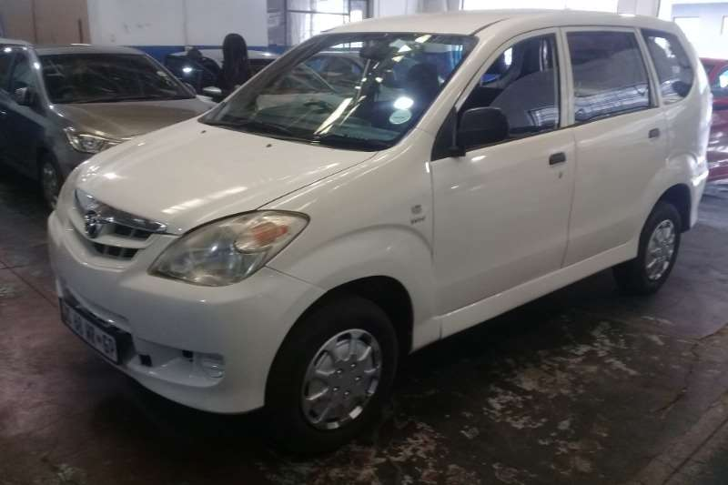 Toyota Avanza 1.5 SX 2011