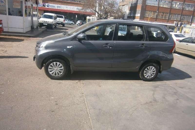 Toyota Avanza 1.5 SX 2012