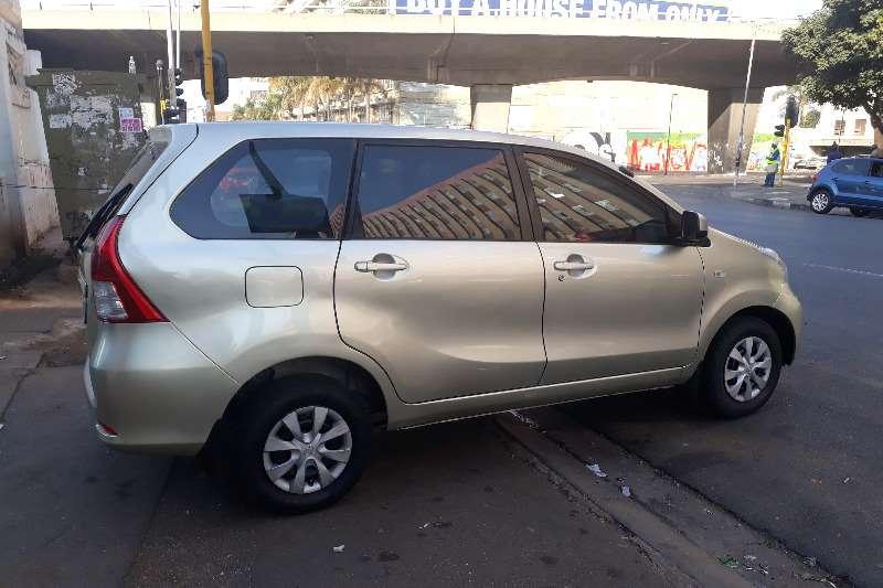 2013 Toyota Avanza Avanza 1.5 SX