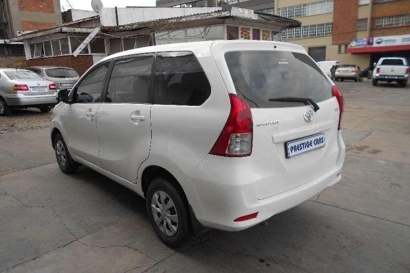 Used 2014 Toyota Avanza 1.5 SX