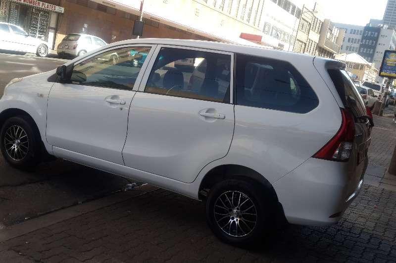 Toyota Avanza 1.5 SX 2014