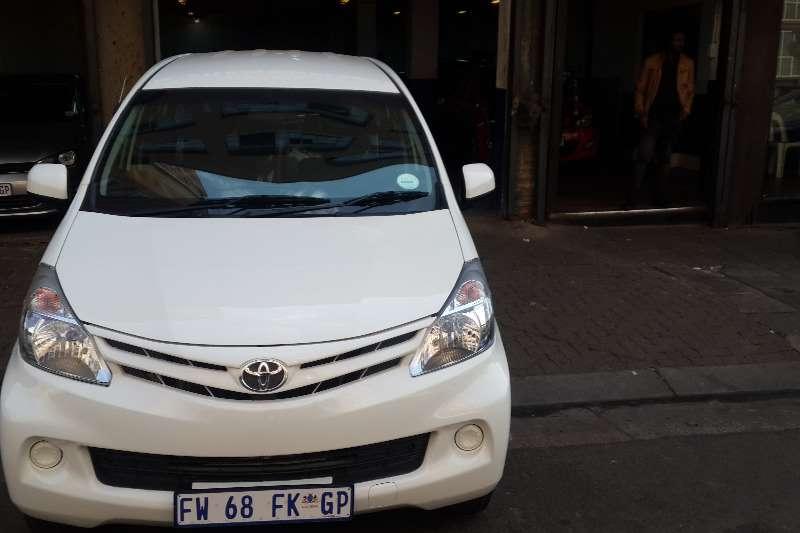 Toyota Avanza 1.5 SX 2015