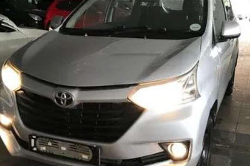 Toyota Avanza 1.5 SX 2016