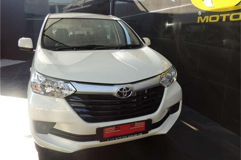 2021 Toyota Avanza AVANZA 1.5 SX