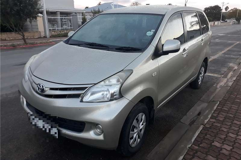 Toyota Avanza 1.5 SX A/T 2013