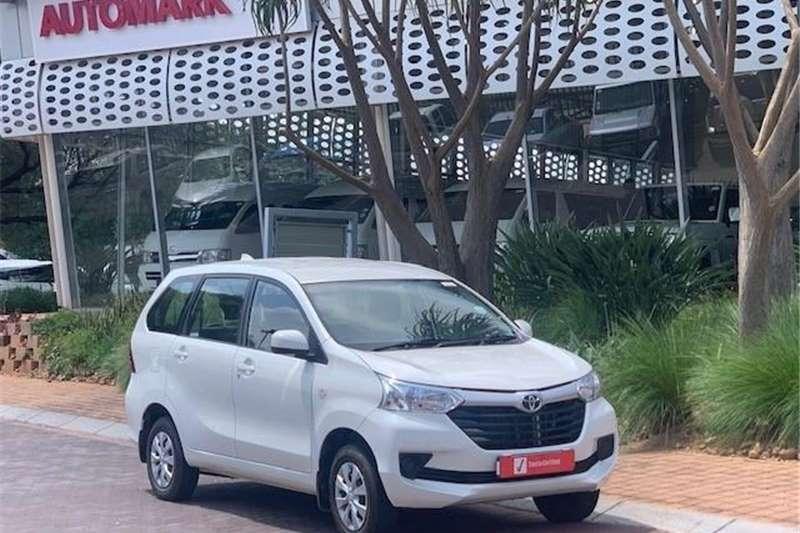 Toyota Avanza 1.5 SX A/T 2021