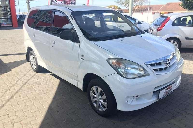 Toyota Avanza 1.5 SX auto 2011
