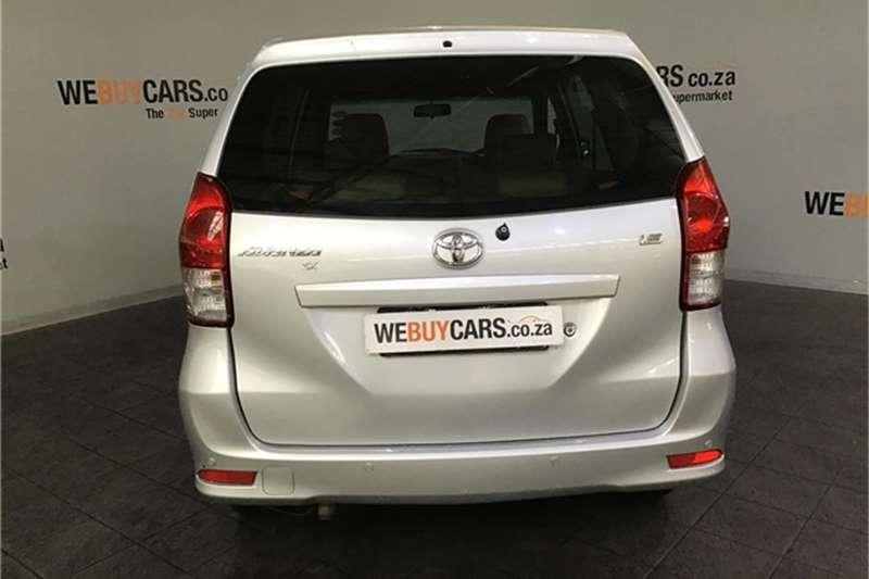 Toyota Avanza 1.5 SX auto 2012