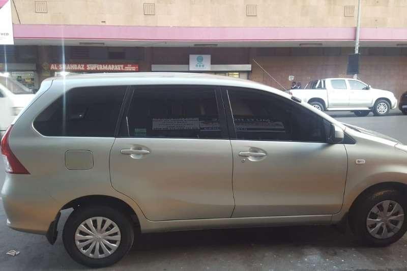 Toyota Avanza 1.5 SX auto 2013