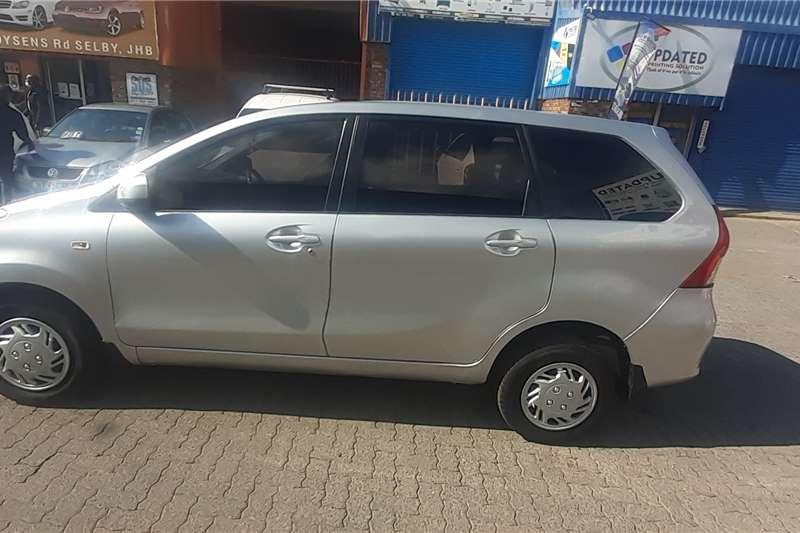 Used 2015 Toyota Avanza 1.5 SX auto