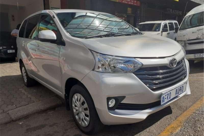 Used 2016 Toyota Avanza 1.5 SX auto