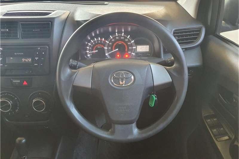 2017 Toyota Avanza Avanza 1.5 SX auto