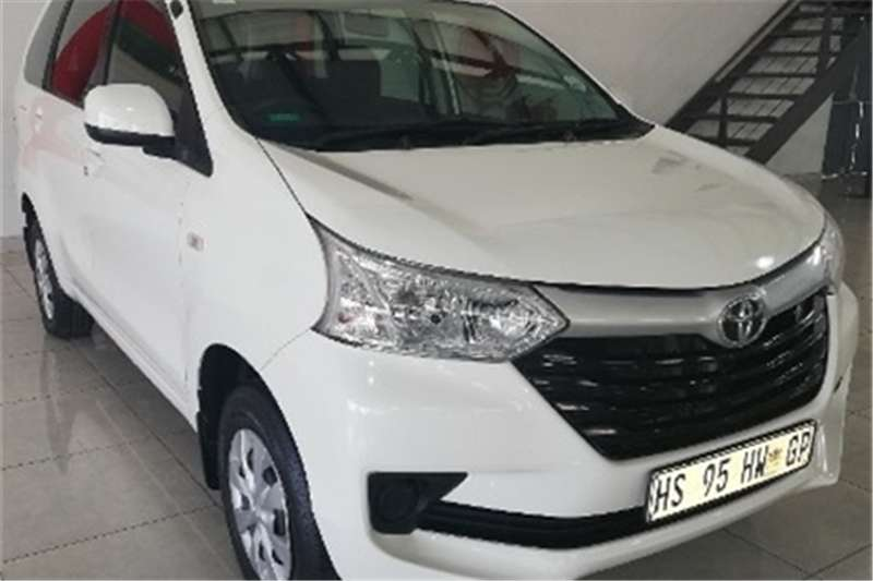 Toyota Avanza 1.5 SX auto 2018