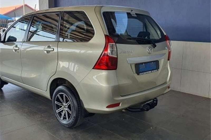 2018 Toyota Avanza Avanza 1.5 SX auto