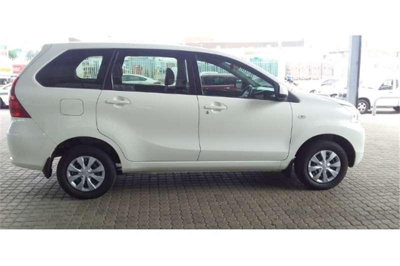 Toyota Avanza 1.5 SX auto 2019