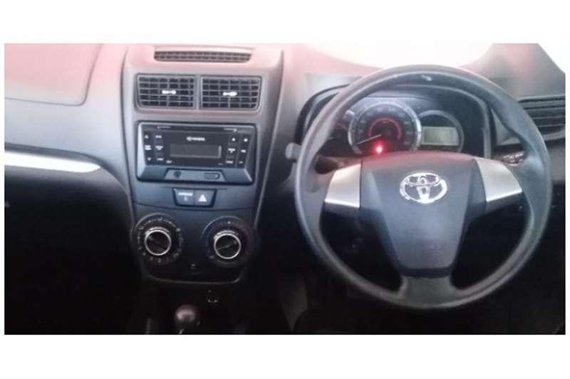 2019 Toyota Avanza Avanza 1.5 SX auto