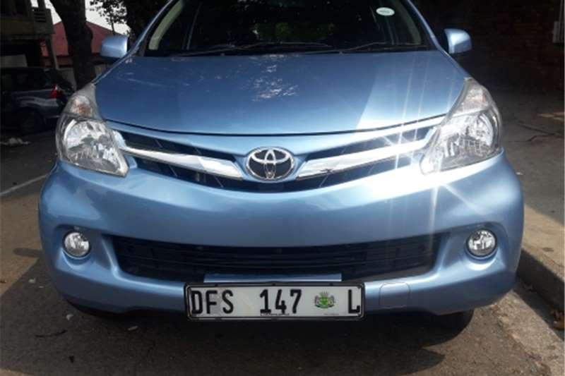 Toyota Avanza 1.5 TS 2015