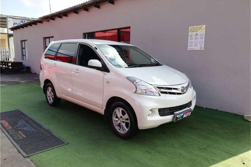 Toyota Avanza 1.5 TX 2012